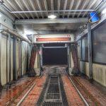 Gibt´s nicht alle Tage: Auffahrunfall in der Waschstraße
